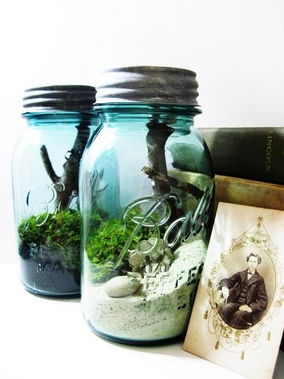 mason jar picture frames